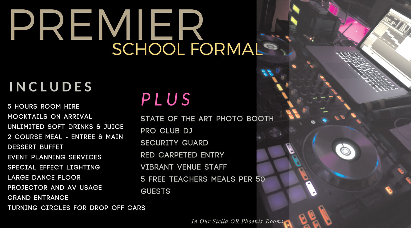 Premier School Formal in Sydney